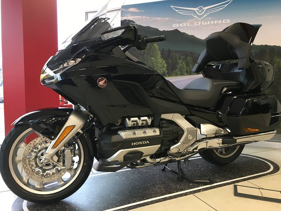 The 2018 Honda Goldwing is now in the showroom