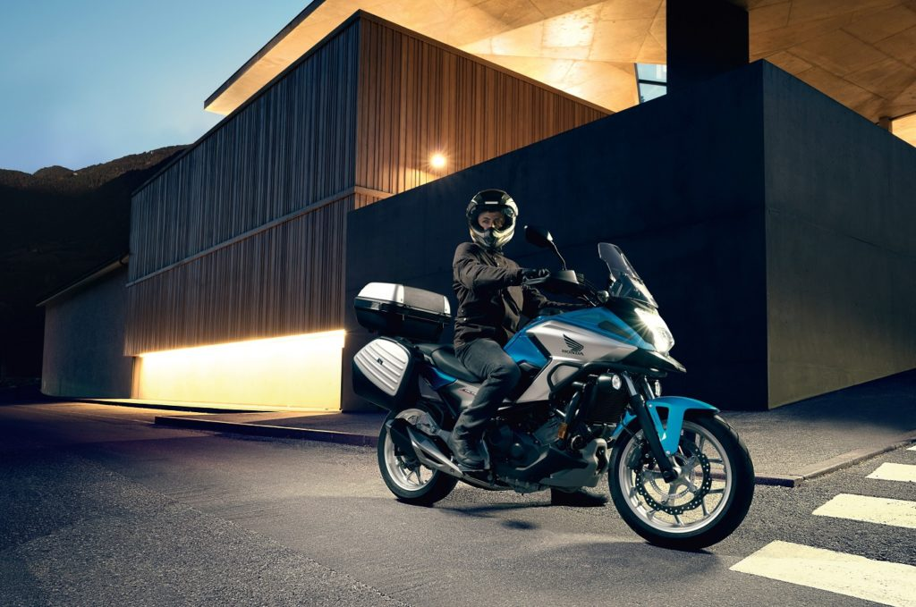 Free accessories for the Honda NC750X worth up to €1250 available at M50 Honda