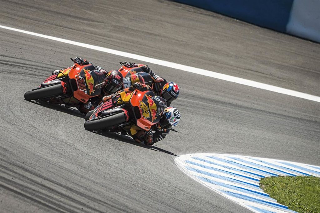 Points, Podium & victory for KTM at Gran Premio Red Bull de Espana