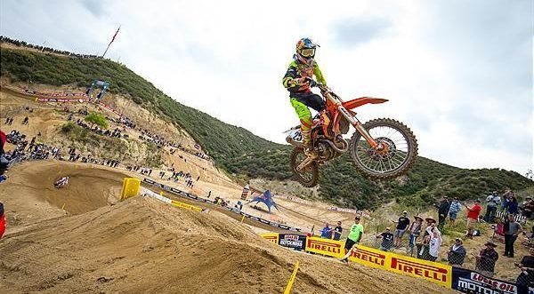 KTM Factory Racing team claim second overalls at Glen Helen MX National