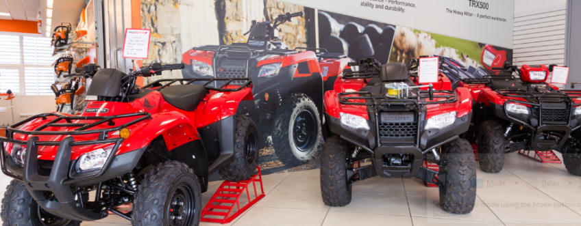 Save €2000 on the TRX500 Honda Quads