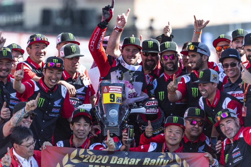 Ricky Brabec wins at the Dakar 2020
